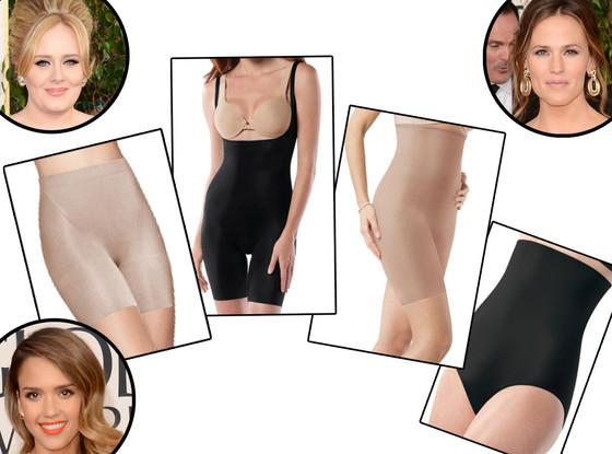 Adele, Jessica Alba, Jennifer Garner, SPANX