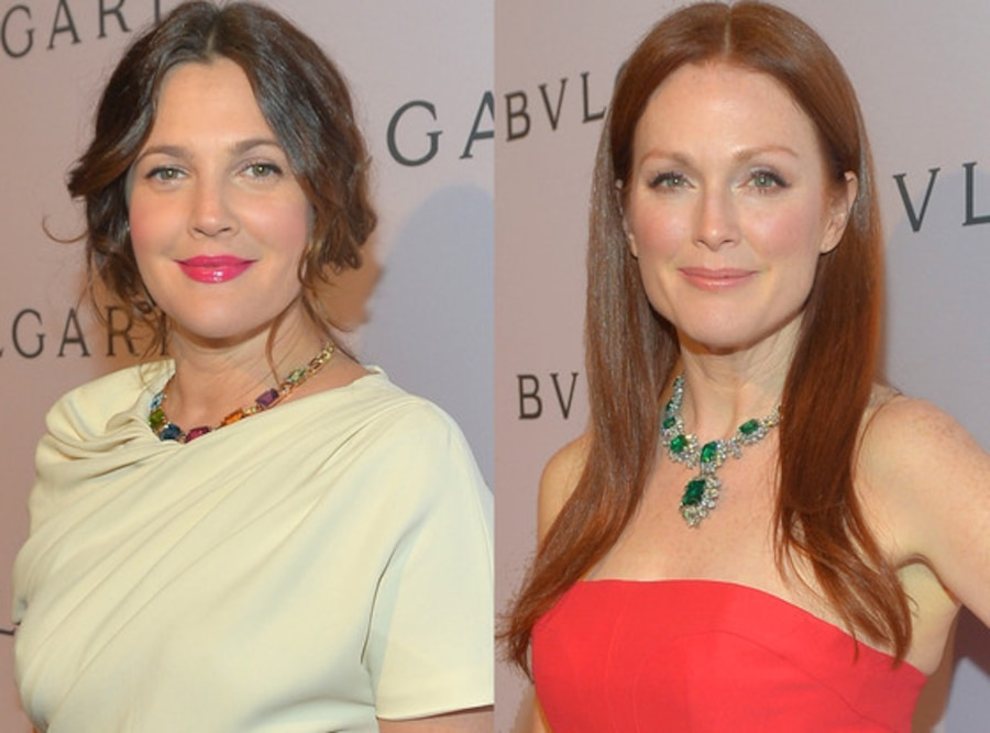 Drew Barrymore, Julianne Moore