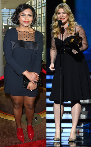 Kelly Clarkson, Mindy Kaling
