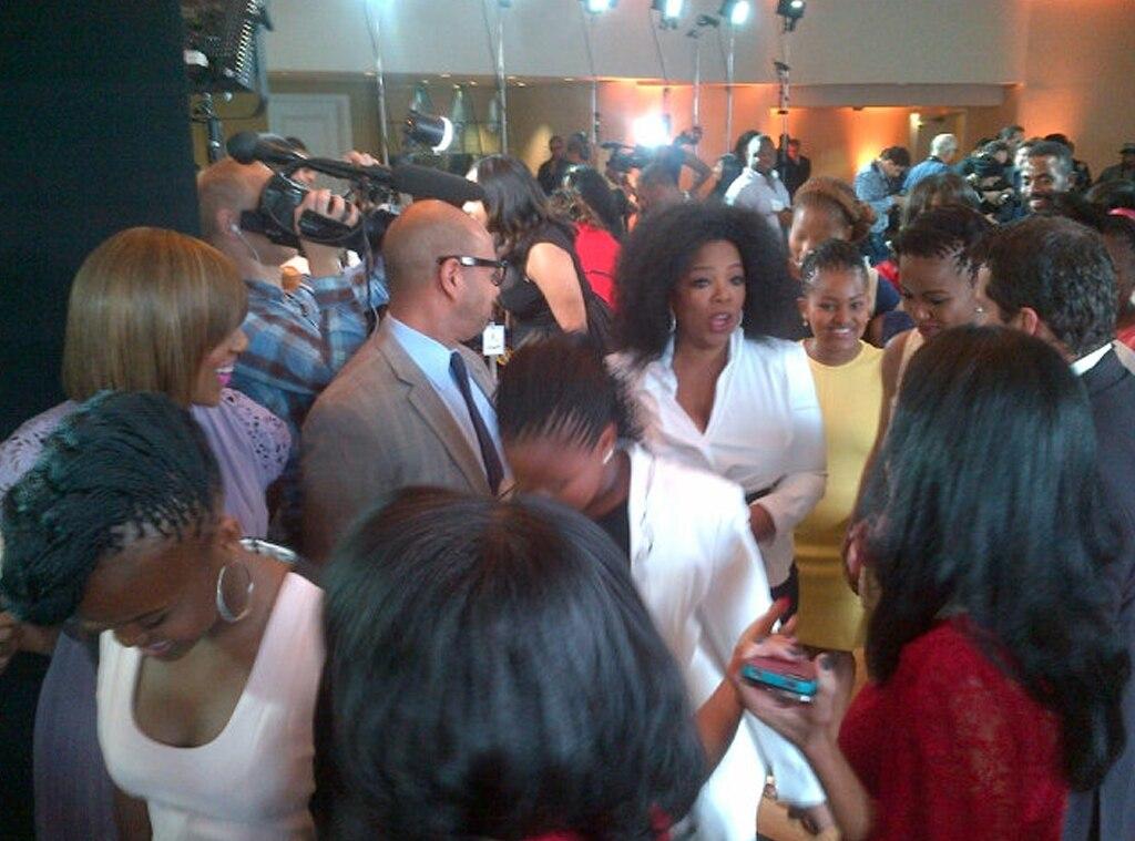 Oprah Winfrey, Malkin, Twitpics