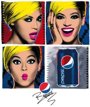 Beyonce, Pepsi Ad