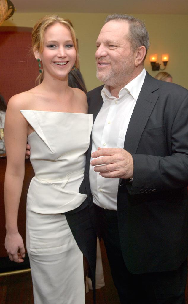 Jennifer Lawrence, Harvey Weinstein