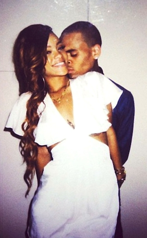 Rihanna, Chris Brown, Twit Pic