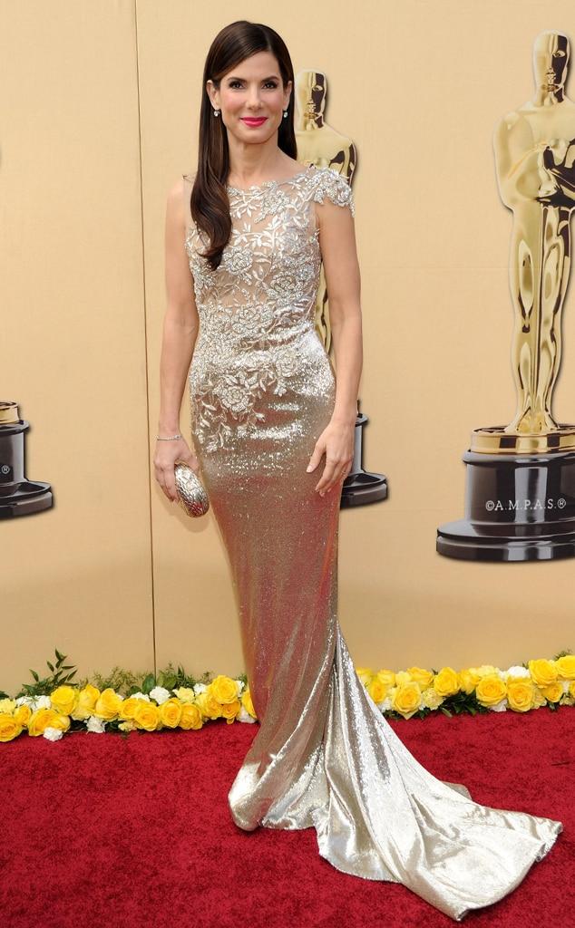 Sandra Bullock, Oscars, Dresses, 2010