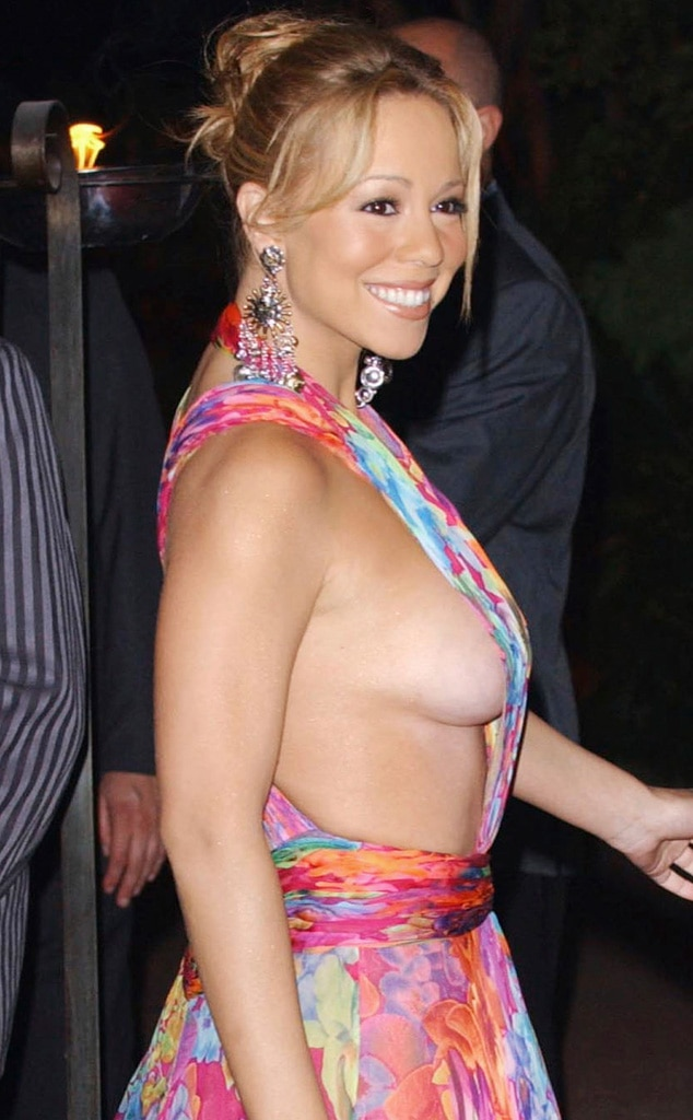 Mariah Carey, Side boob