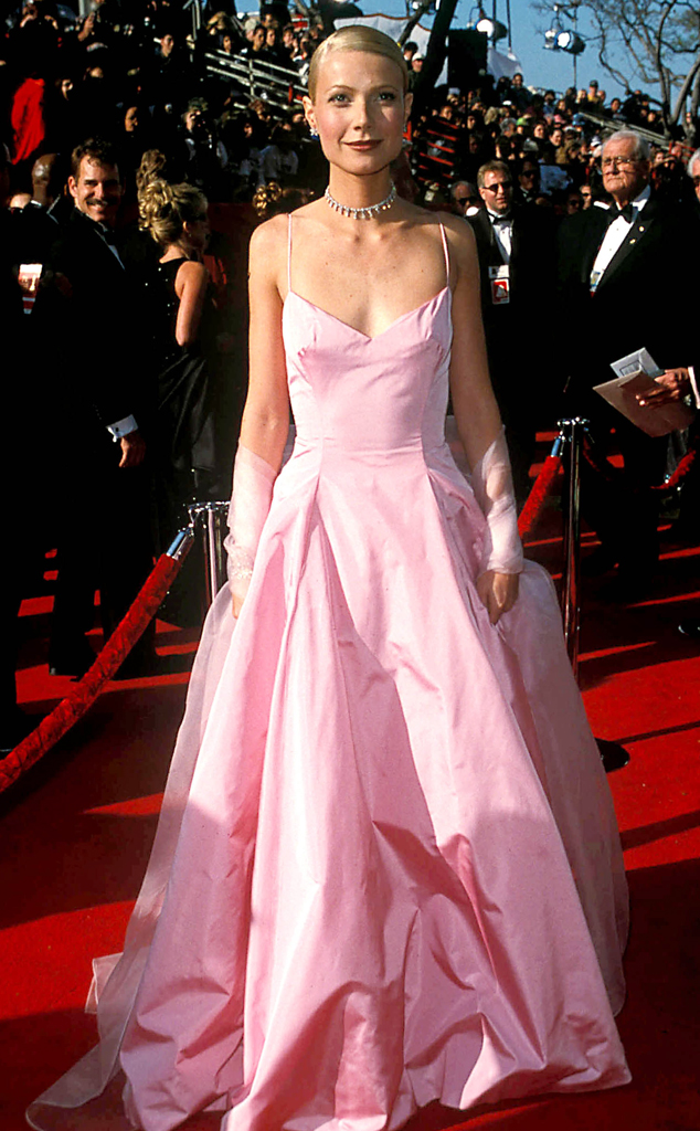 Gwyneth Paltrow, Oscars, Dresses, 1999, Ralph Lauren