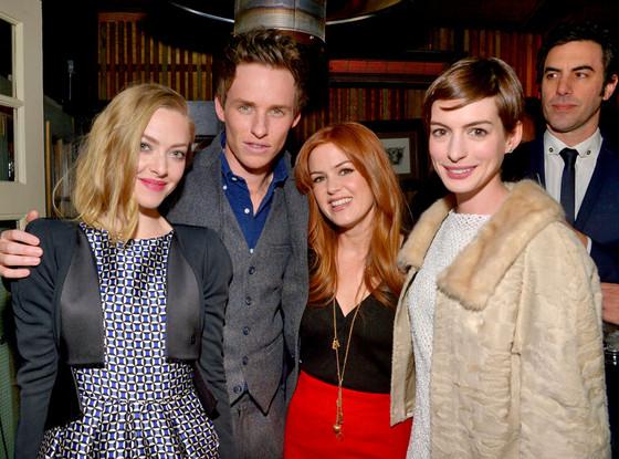 Amanda Seyfried, Eddie Redmayne, Isla Fisher, Anne Hathaway
