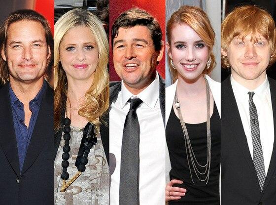 Josh Holloway, Sarah Michelle Gellar, Kyle Chandler, Emma Roberts, Rupert Grint