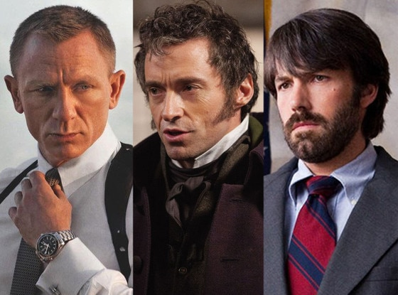 Skyfall, Les Miserable, Argo