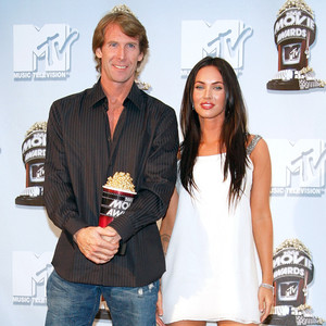 Michael Bay, Megan Fox