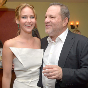Jennifer Lawrence, Harvey Weinstein