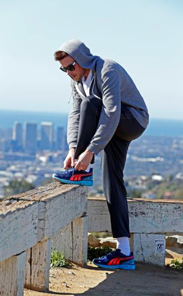 Cory Monteith, Fitness