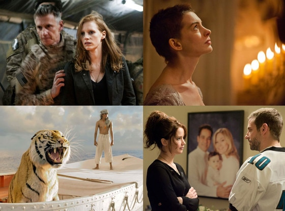 Oscar Predictions, Zero Dark Thirty, Silver Linings Playbook, Les Miserables, Life of Pi