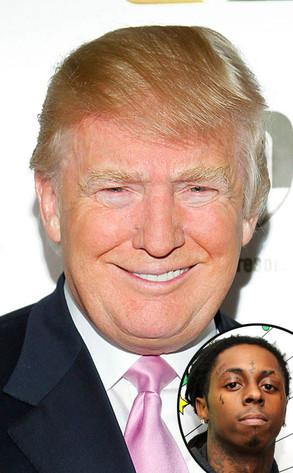 Donald Trump, Lil Wayne