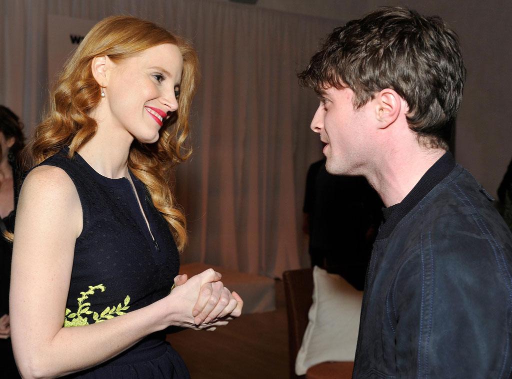 Jessica Chastain, Daniel Radcliffe