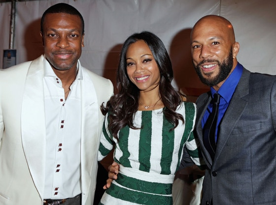 Chris Tucker, Zoe Saldana, Common