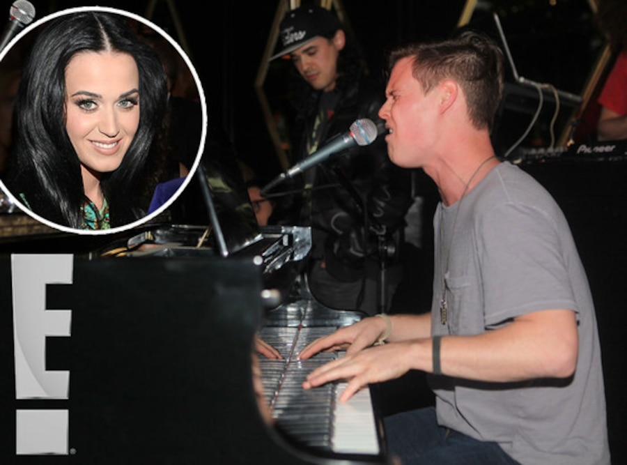 Katy Perry, brother David Hudson