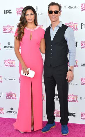 Independent Spirit Awards, Matthew McConaughey, Camila Alves