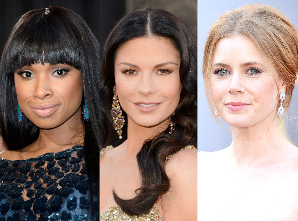 Jennifer Hudson, Catherine Zeta Jones, Amy Adams