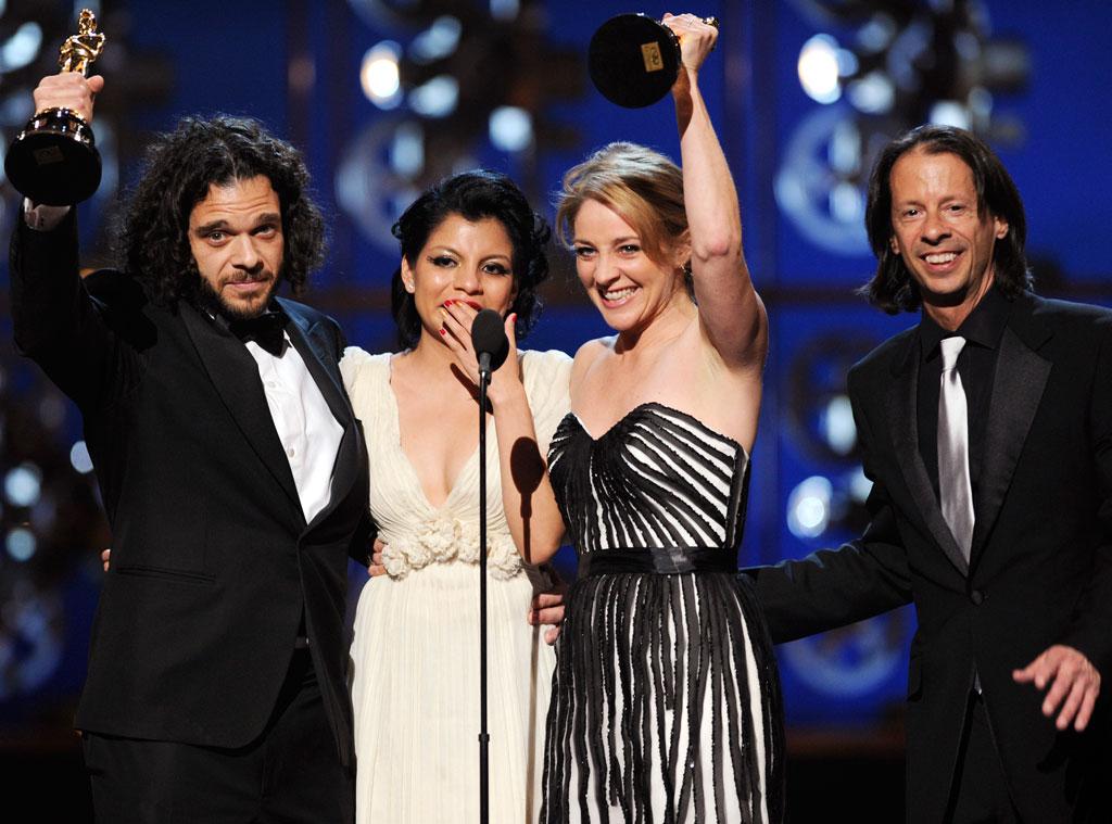 2013 Oscars Show, Sean Fine, Andrea Nix Fine