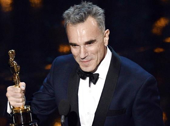 2013 Oscars Show, Daniel Day-Lewis