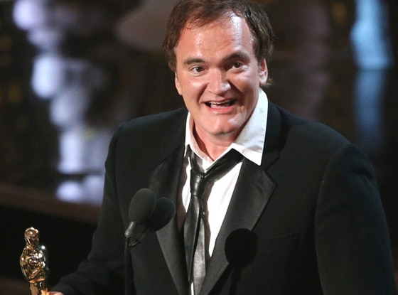 2013 Oscars Show, Quentin Tarantino