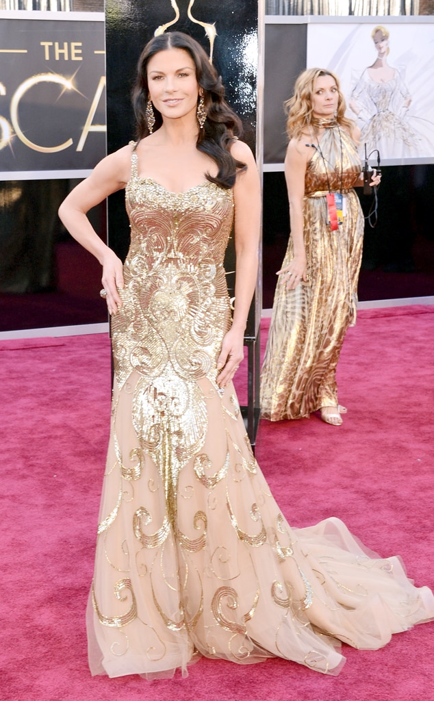 Catherine Zeta-Jones, Oscars 2013