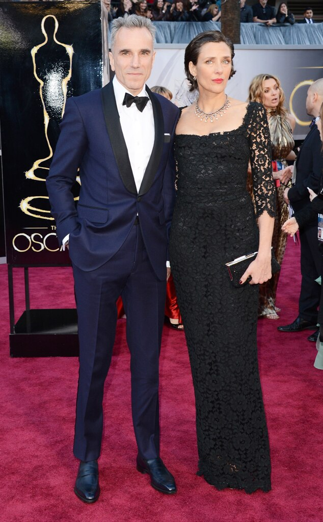 Daniel Day-Lewis, Rebecca Miller, Oscars 2013