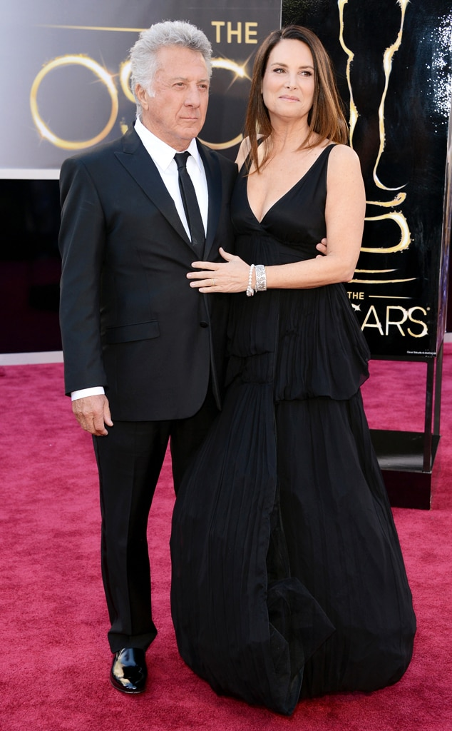 Dustin Hoffman, Lisa Hoffman, Oscars 2013