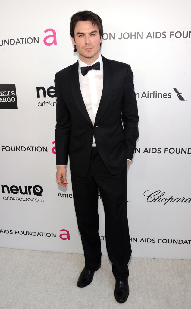 Ian Somerhalder, Elton John Oscars Party