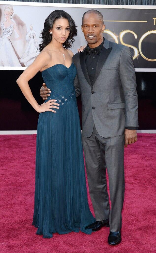 Jamie Foxx, Corinne Bishop, Oscars 2013