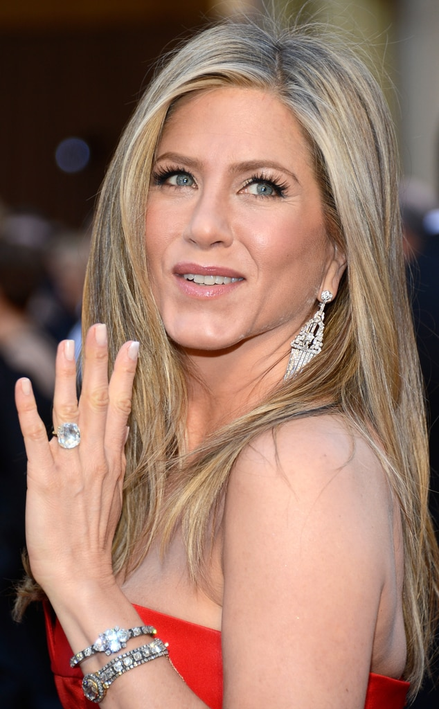 Jennifer Aniston, Diamonds, Oscars 2013