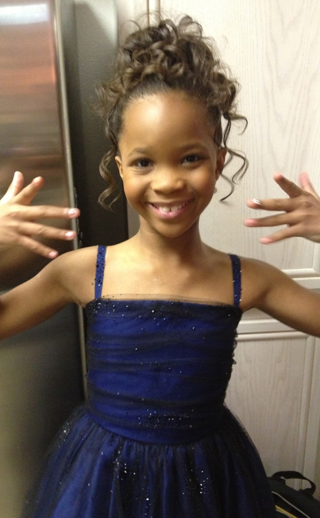 Quvenzhané Wallis, Nails