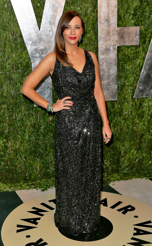 Rashida Jones, 2013 Vanity Fair Oscar Party