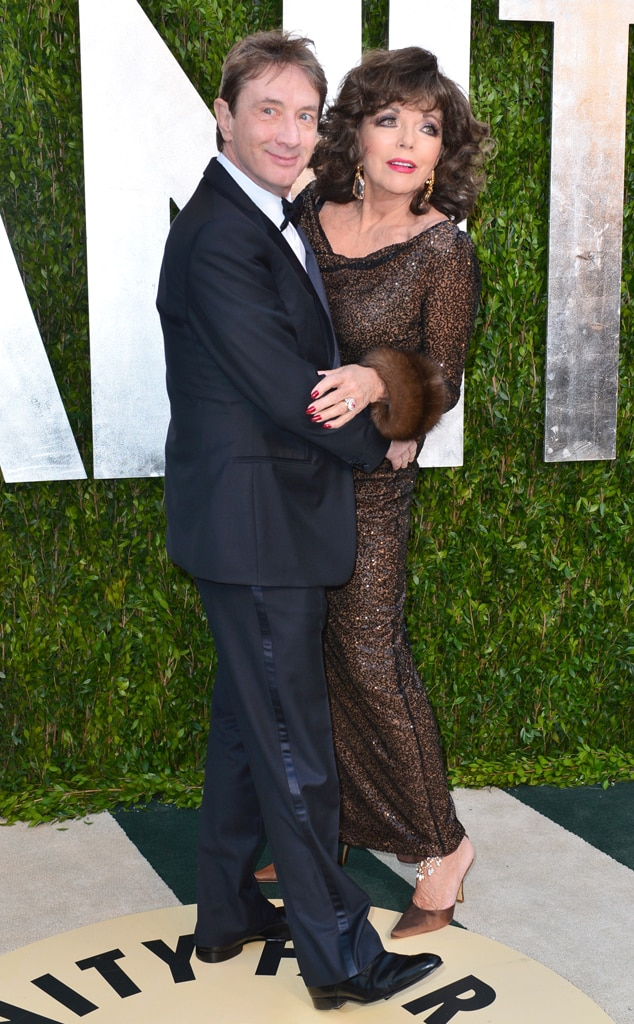 Martin Short, Joan Collins, Vanity Fair