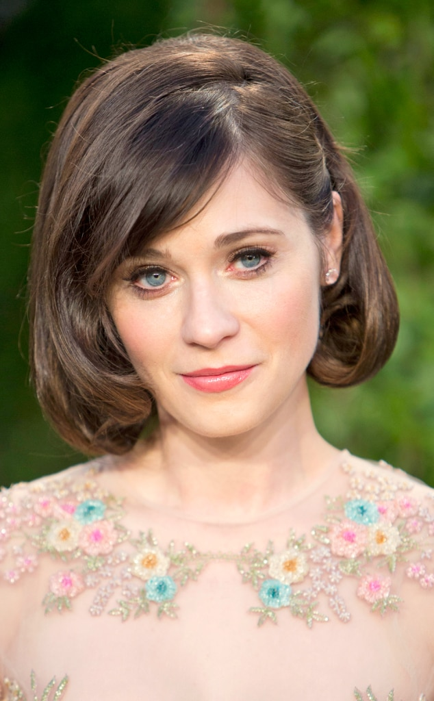 Zooey Deschanel, 2013 Vanity Fair Oscar Party