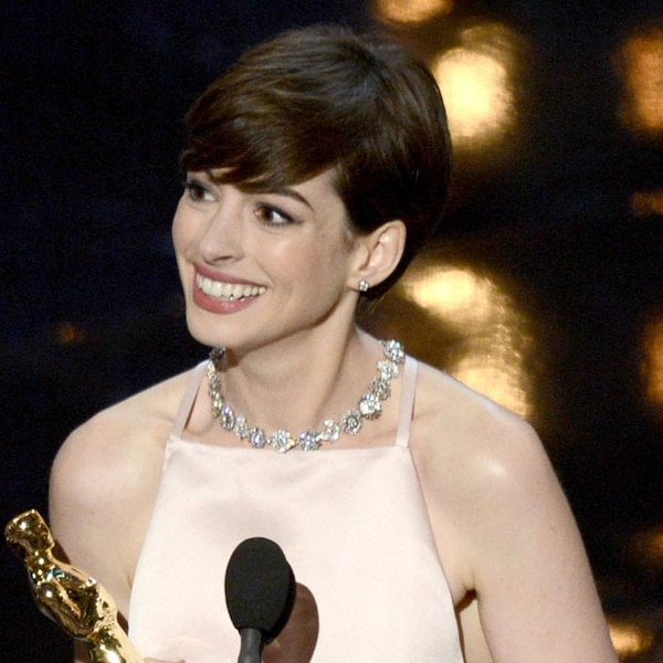 Anne Hathaway Now And Then: Anne Hathaway From 2013 Oscars: Best And Worst Moments