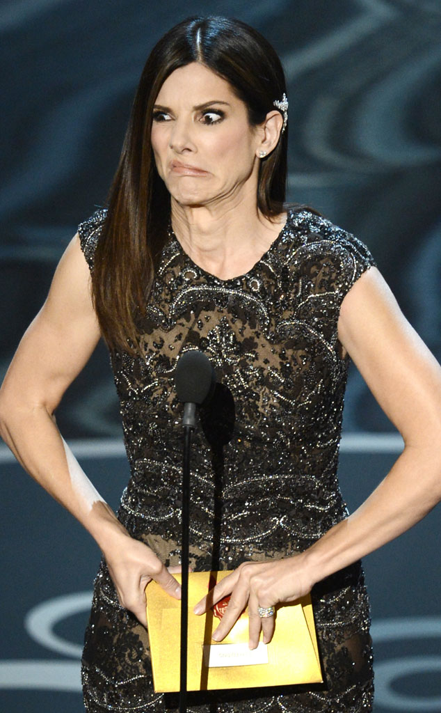 2013 Oscars Show, Sandra Bullock