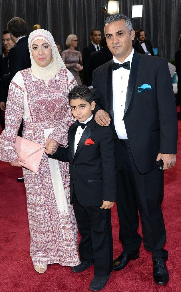 Emad Burnat, Soreya, Jibrel, Oscars 2013