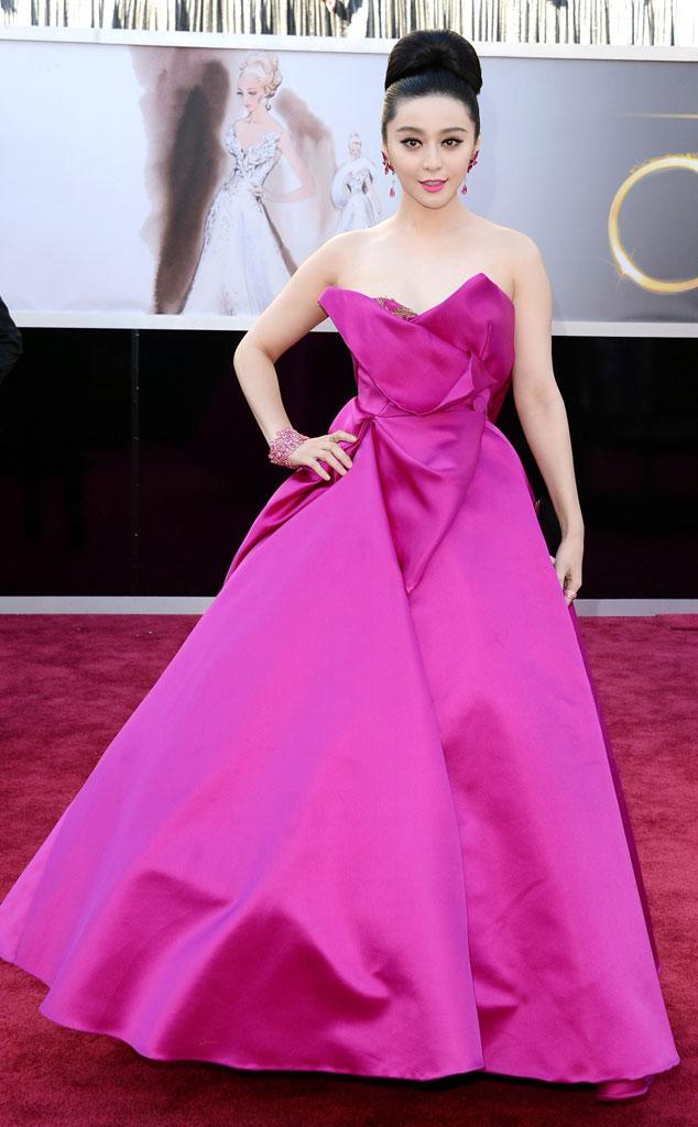 Fan Bingbing, Oscars 2013