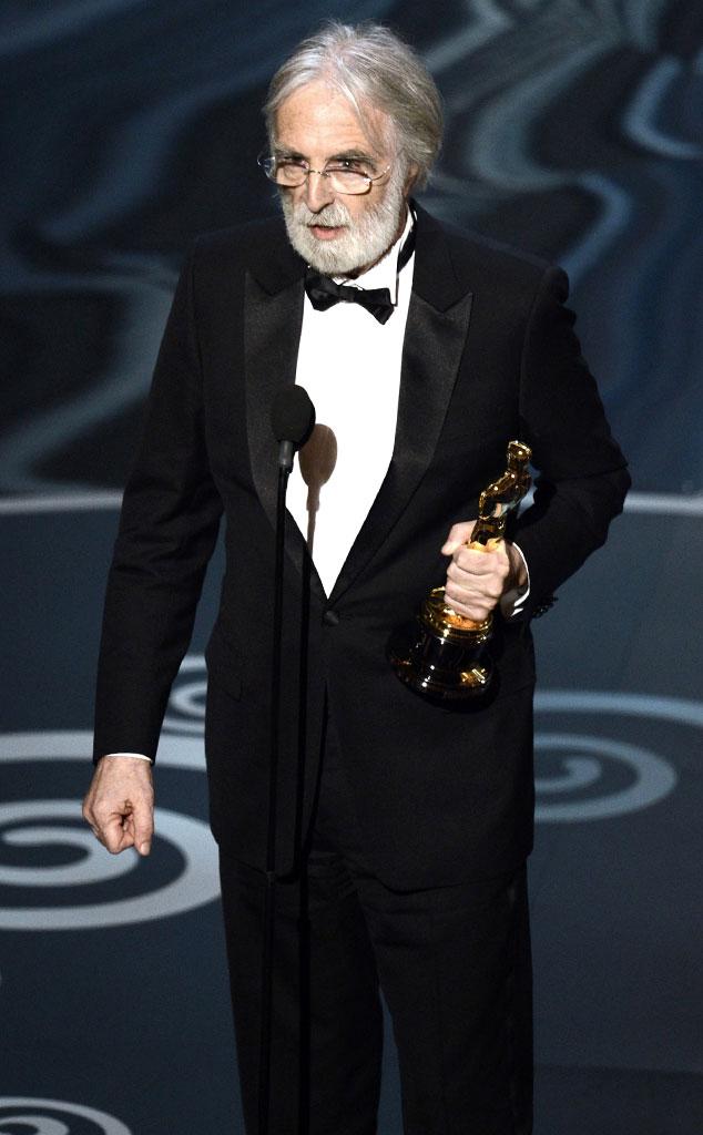 2013 Oscars Show, Michael Haneke