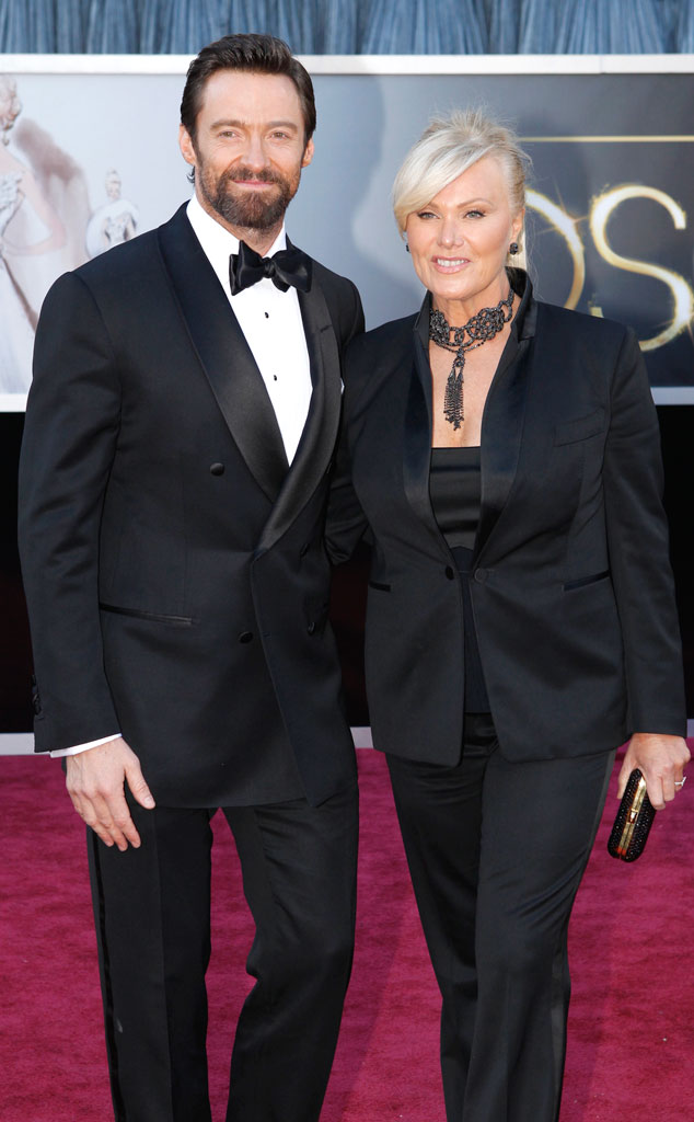 Hugh Jackman, Wife, Oscars 2013