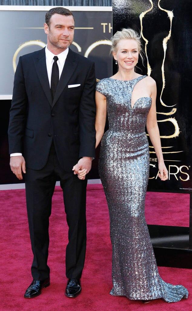 Naomi Watts, Liev Schreiber, Oscars 2013