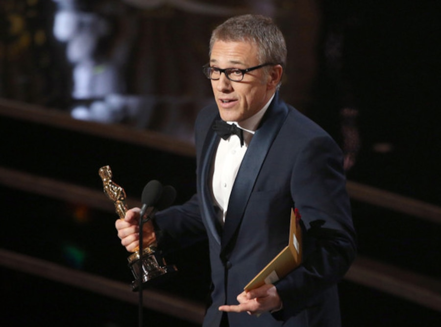 Christoph Waltz, Winner, Oscars 13