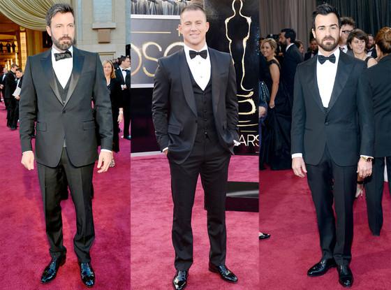 Ben Affleck, Channing Tatum, Justin Theroux, Oscars 2013