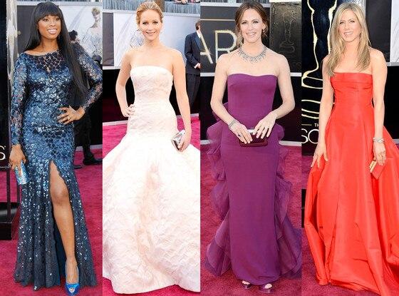 Jennifer Hudson, Jennier Garner, Jennifer Lawrence, Jennifer Aniston, Oscars 2013