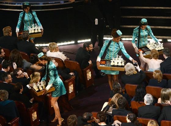 2013 Oscars Show, Snacks