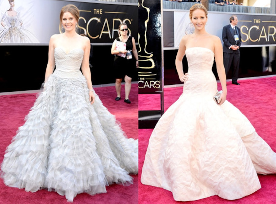 Amy Adams, Jennifer Lawrence, Oscars 2013