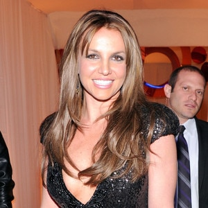 Britney Spears, Elton John Oscars Party 2013