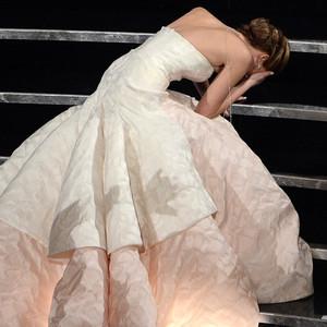 2013 Oscars Show, Jennifer Lawrence